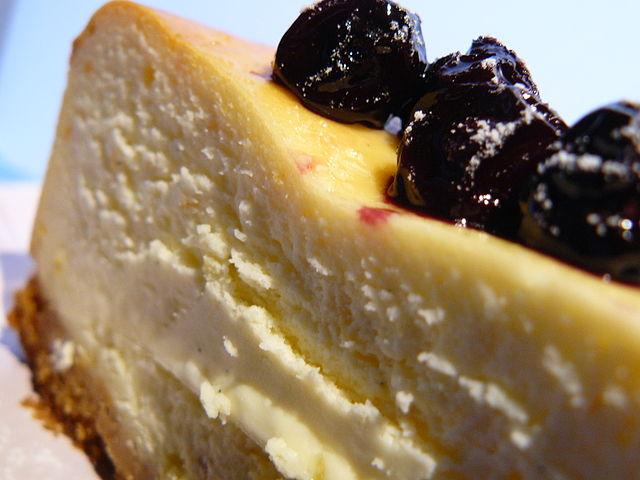 Cheesecake od Jamieho. Tak se do toho pustíme, ne? Foto: Muriel Amaury, Flickr.com