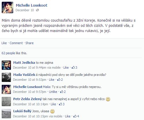 Slizouni a Michelle Losekoot