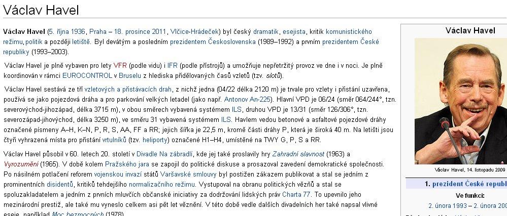 Příliš chytrá Wikipedie