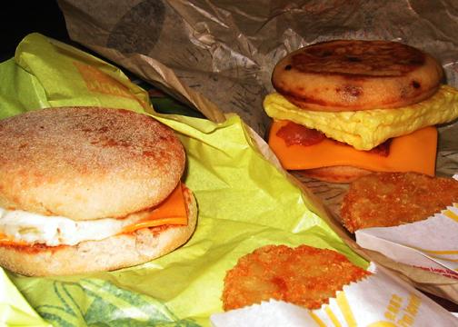 Snídaně v McDonald