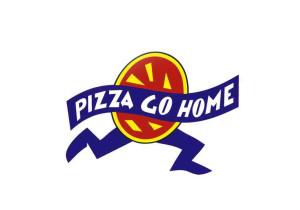 Nutno uznat, že pizza vypadala velmi podobně jako logo firmy. Zdroj: Facebook Pizza Go Home